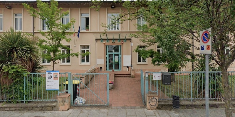 L'ingresso della scuola del'infanzia